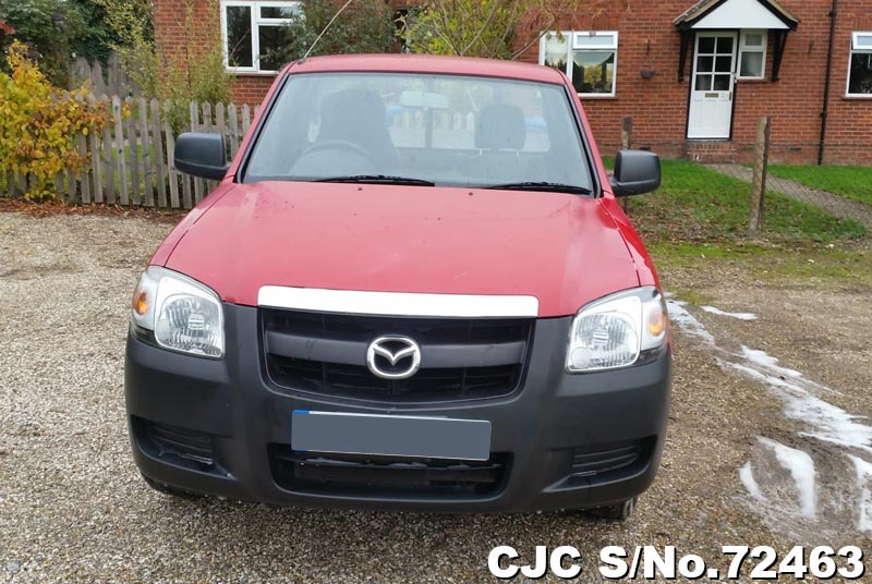2007 Mazda BT-50 Red for sale   Stock No. 72463   Japanese ...