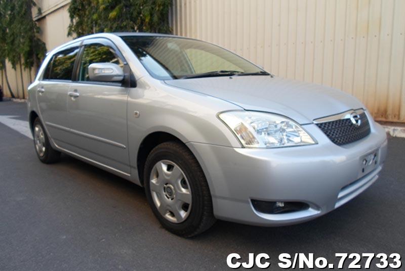 Silver Toyota Corolla Runx for Diplomats