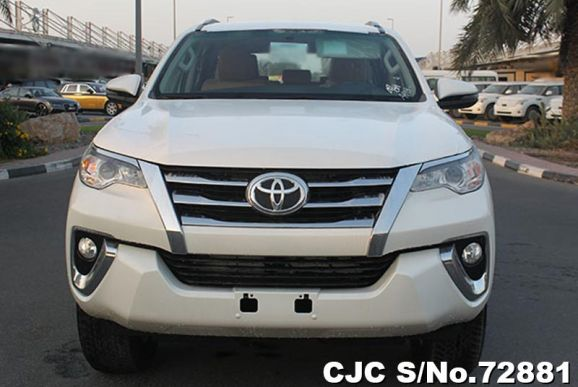 2018 Toyota / Fortuner Stock No. 72881