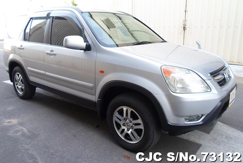 Silver Honda CRV for Diplomats