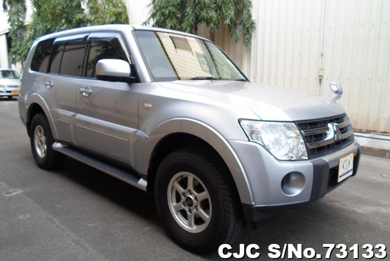 Silver Mitsubishi Pajero for Diplomats