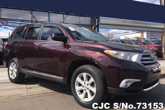 2012 Toyota / Highlander Stock No. 73153