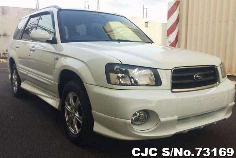 White Subaru Forester for Diplomats