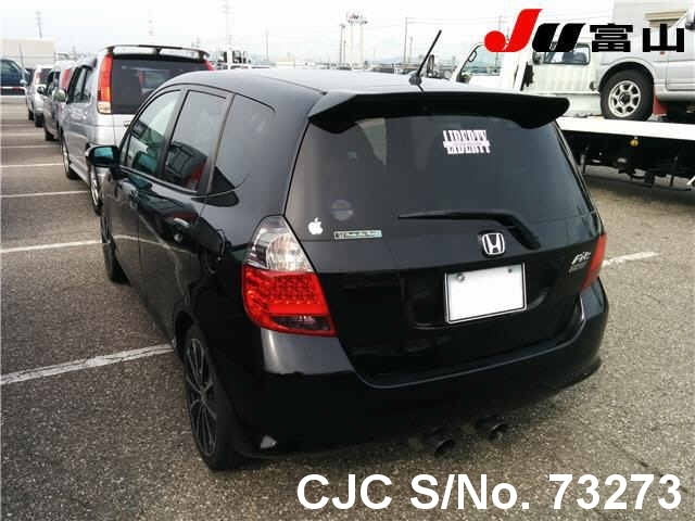 2005 Honda Fit/Jazz Black for sale | Stock No. 73273 | Japanese Used Cars Exporter