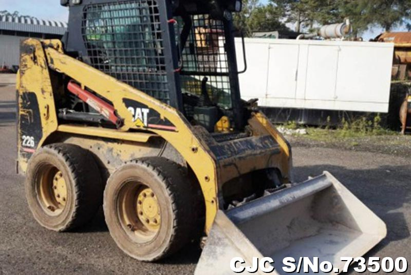 Used Caterpillar 226 Skid Steer Loader for sale | 2002 model | CJC- 73500 | Japanese Used ...