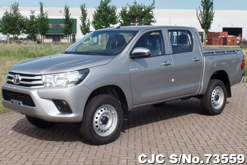 Brand New 2018 Left Hand Toyota Hilux Gray for sale | Stock No