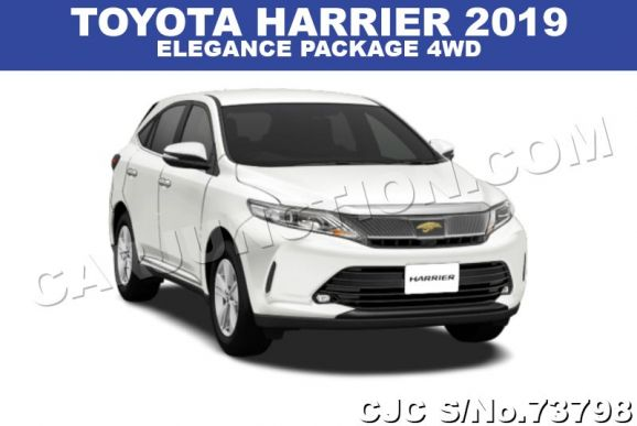 2019 Toyota / Harrier Stock No. 73798