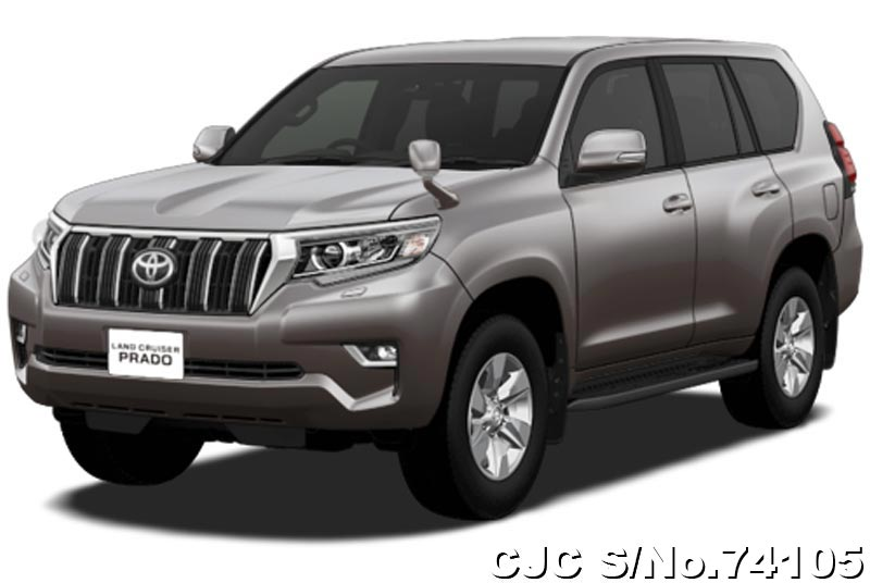 2019 Toyota Land Cruiser Prado Avant Garde Bronze Metallic For Sale