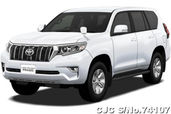 2020 Toyota / Land Cruiser Prado Stock No. 74107