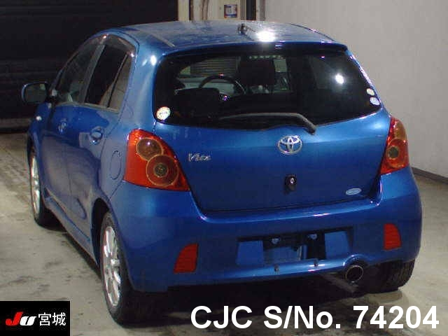 2007 Toyota / Vitz - Yaris Stock No. 74204