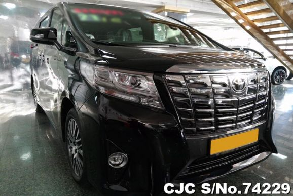 2018 Toyota / Alphard Stock No. 74229