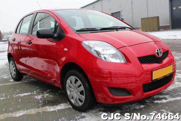 2010 Toyota / Vitz - Yaris Stock No. 74664