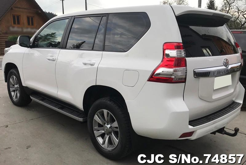2016 Toyota / Land Cruiser Stock No. 74857