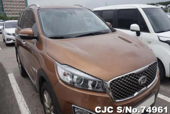 2015 Kia / Sorento Stock No. 74961