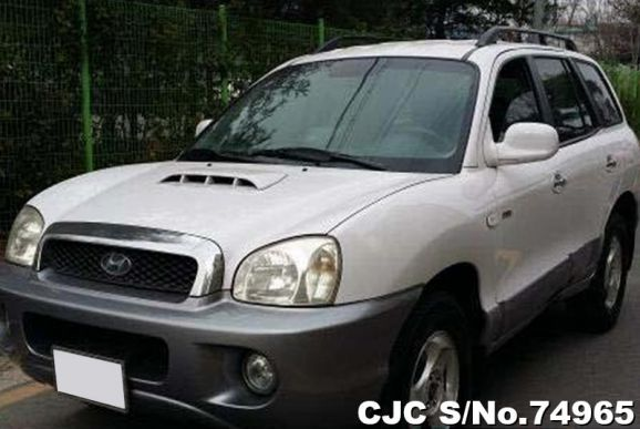 2002 Hyundai / Santa FE Stock No. 74965