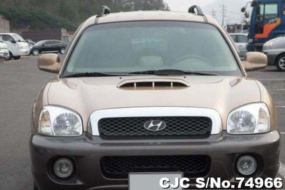 2003 Hyundai / Santa FE Stock No. 74966