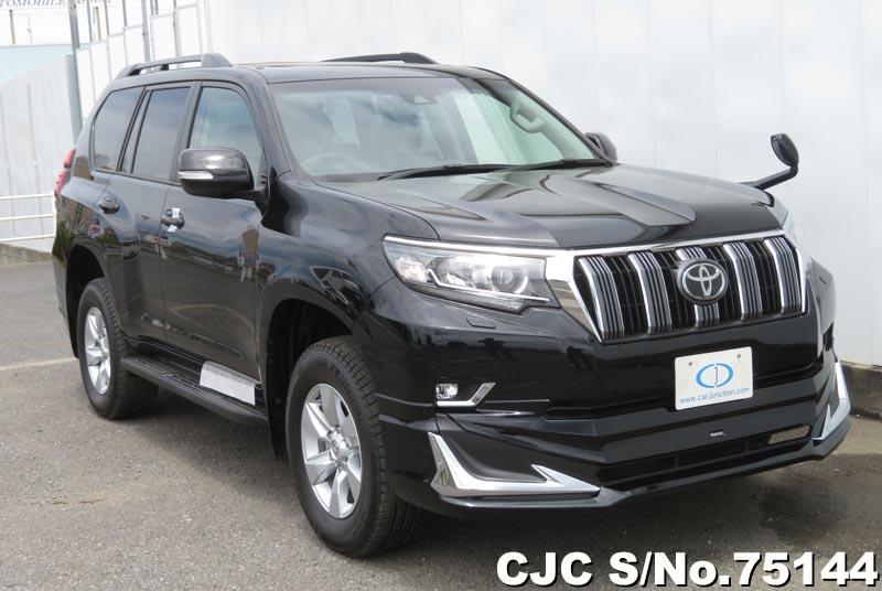 2019 Toyota Land Cruiser Prado Atitude Black Mica for sale ...