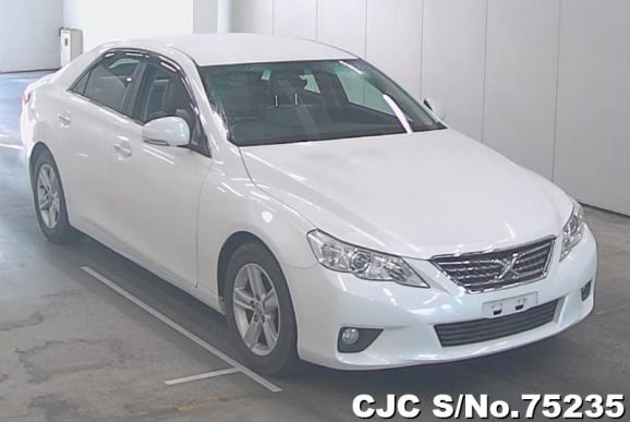2010 Toyota / Mark X Stock No. 75235