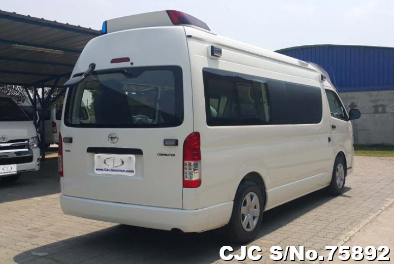 2019 Toyota Hiace White for sale | Stock No  75892
