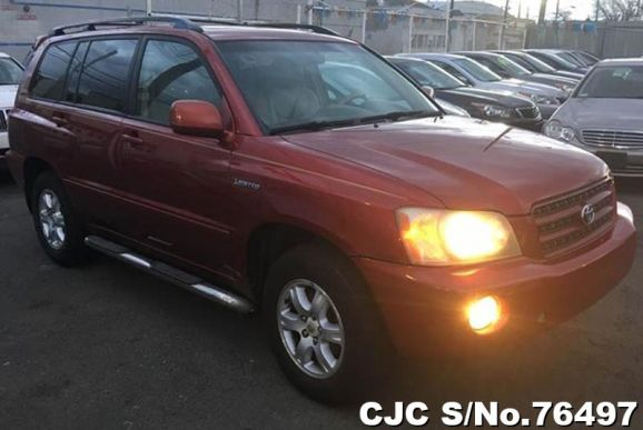 2002 Toyota / Highlander Stock No. 76497