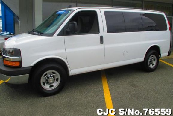 2017 Chevrolet / Express Stock No. 76559