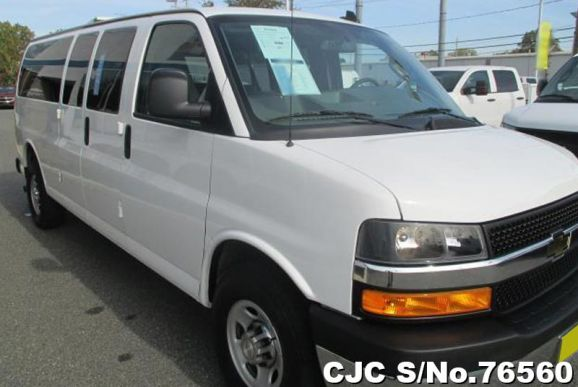 2018 Chevrolet / Express Stock No. 76560