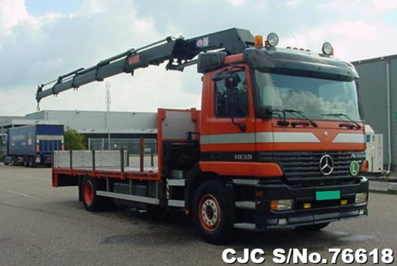 2003 Mercedes Benz / Actros Stock No. 76618