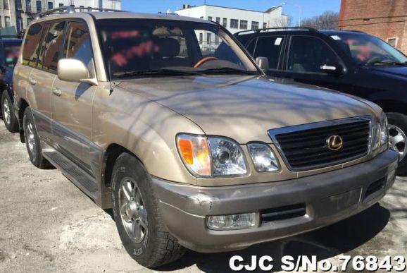 2002 Lexus / LX470 Stock No. 76843