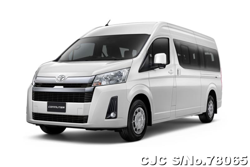 2019 Toyota Hiace Commuter White for sale | Stock No ...