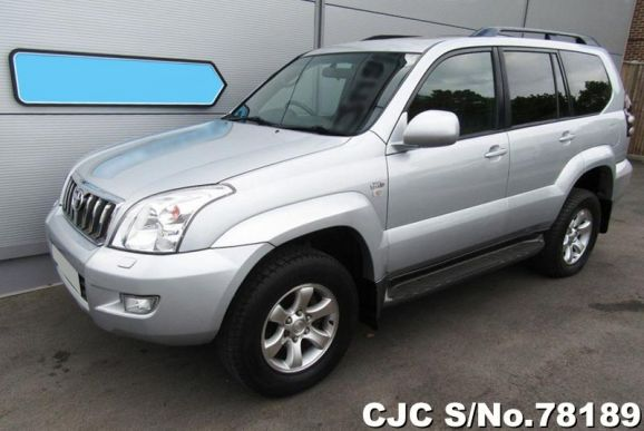 2005 Toyota / Land Cruiser Prado Stock No. 78189