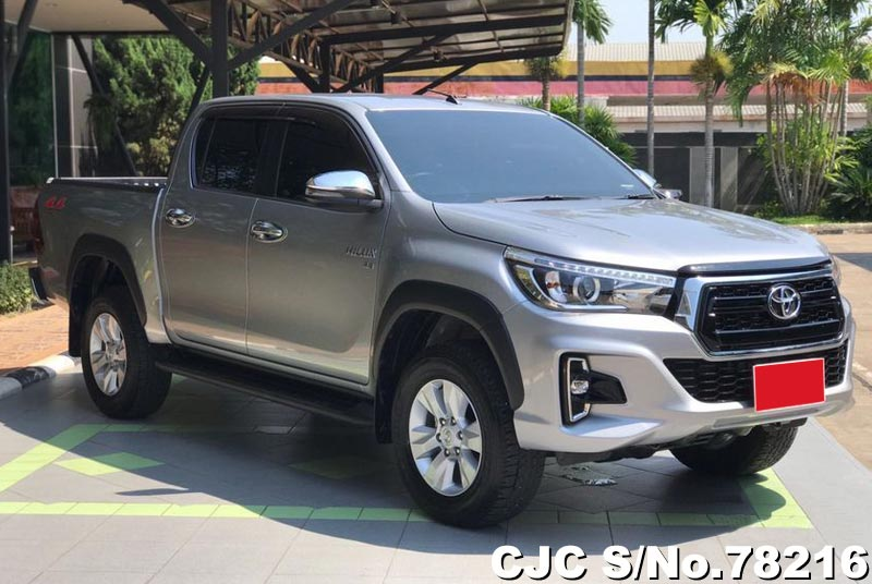 2018 Toyota Hilux Silver for sale | Stock No  78216 | Japanese Used