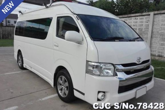 Used Toyota Hiace for Sale | Japanese Used Cars Exporter
