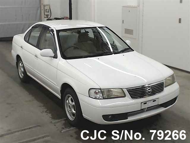 2002 Nissan Sunny White For Sale Stock No 79266 Japanese Used