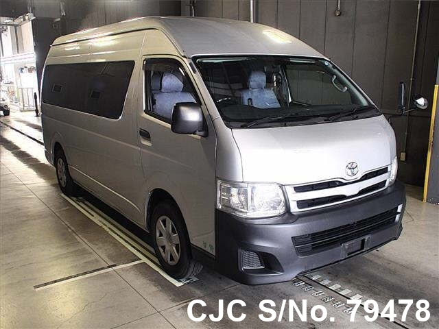 2012 Toyota Hiace Silver for sale | Stock No  79478