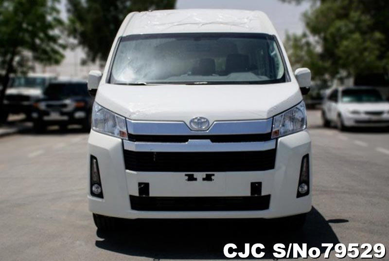 Brand New 2019 Left Hand Toyota Hiace White for sale | Stock