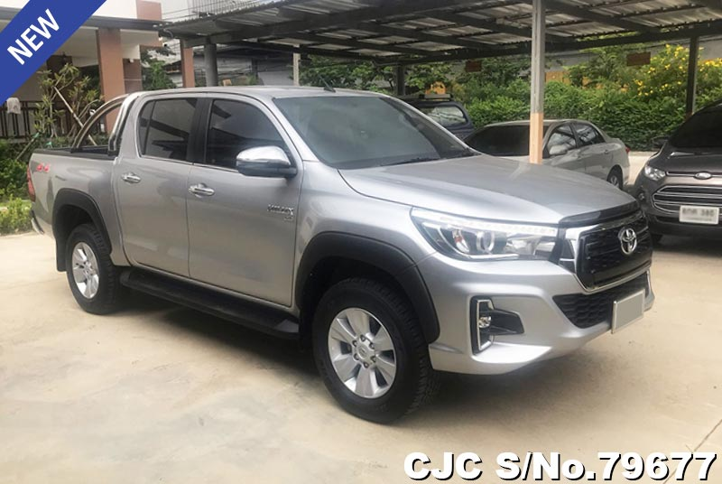 2017 Toyota Diesel Truck >> 2017 Toyota Hilux Silver For Sale Stock No 79677