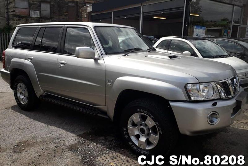 2005 Nissan Patrol Silver for sale   Stock No  80208