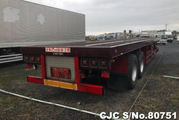 1994 Trail Mobile / 21.5 Ton Trailer Stock No. 80751