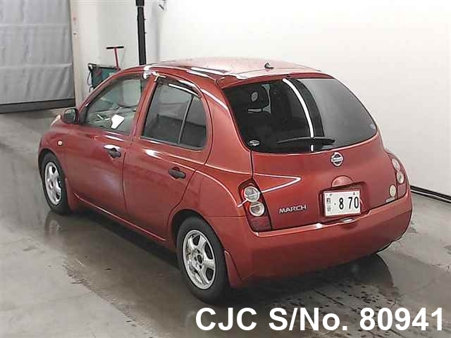 2005 Nissan / March Stock No. 80941