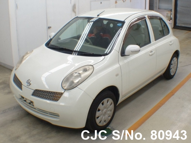 2002 Nissan / March Stock No. 80943