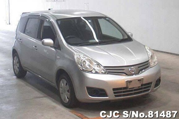 2010 Nissan / Note Stock No. 81487