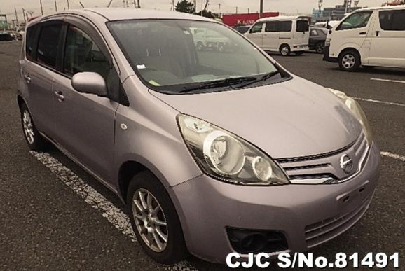 2010 Nissan / Note Stock No. 81491
