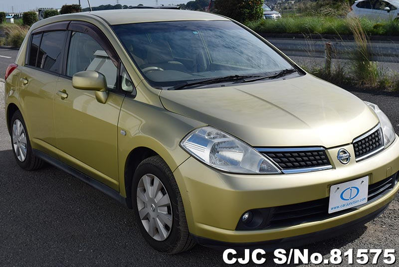 2005 Nissan / Tiida Stock No. 81575