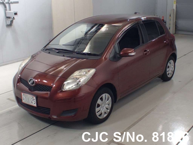 2010 Toyota / Vitz - Yaris Stock No. 81826
