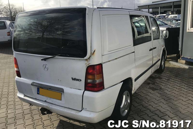2000 Left Hand Mercedes Benz Vito White for sale   Stock ...