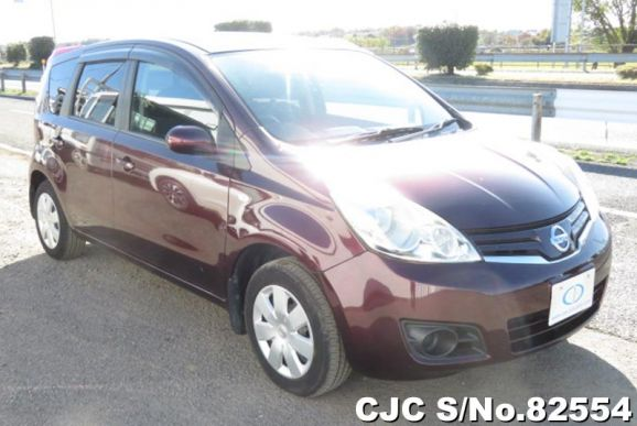 2010 Nissan / Note Stock No. 82554
