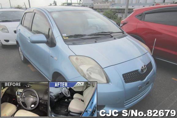 2006 Toyota / Vitz - Yaris Stock No. 82679