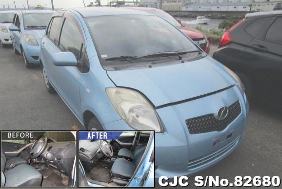 2005 Toyota / Vitz - Yaris Stock No. 82680