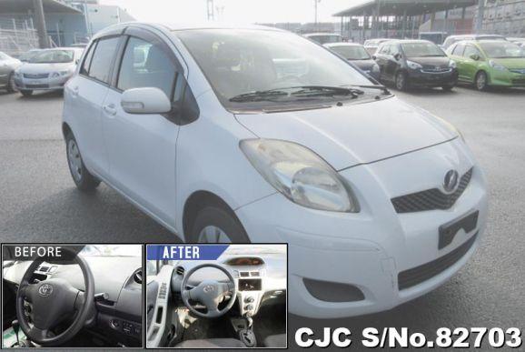 2007 Toyota / Vitz - Yaris Stock No. 82703