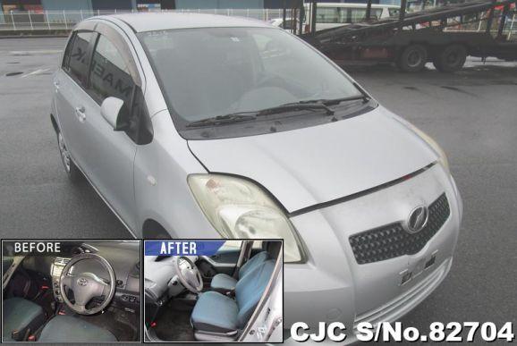 2005 Toyota / Vitz - Yaris Stock No. 82704